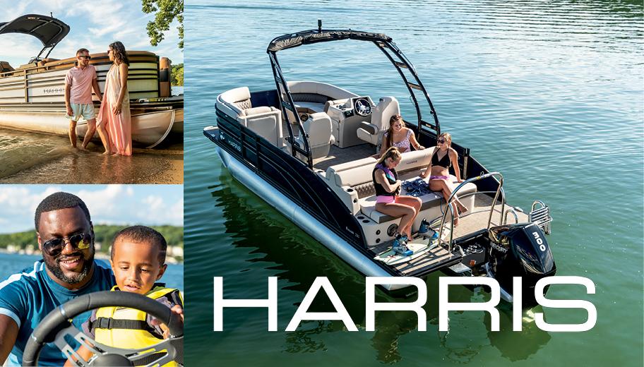 Harris Pontoon Boats